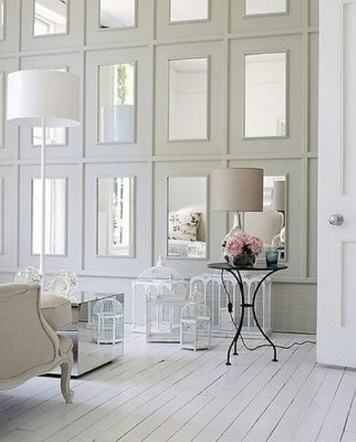 Stylish Home: Mirror, Mirror, On The Wall – Decorating With Inside Mirrors Wall Accents (Image 13 of 15)