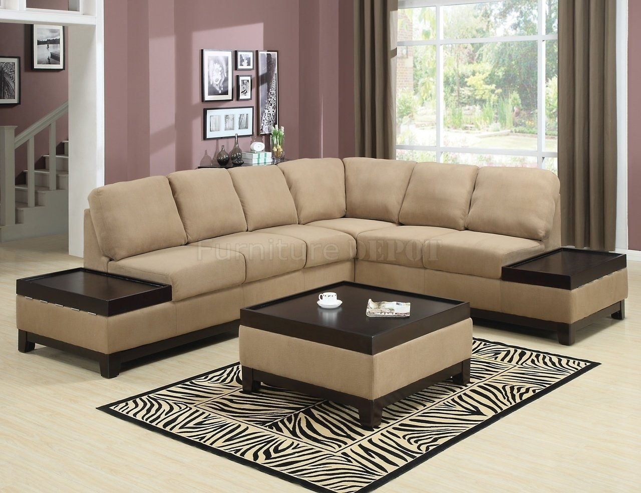 Stylish Sectional Sofas Tulsa Buildsimplehome Throughout Image 8 Of