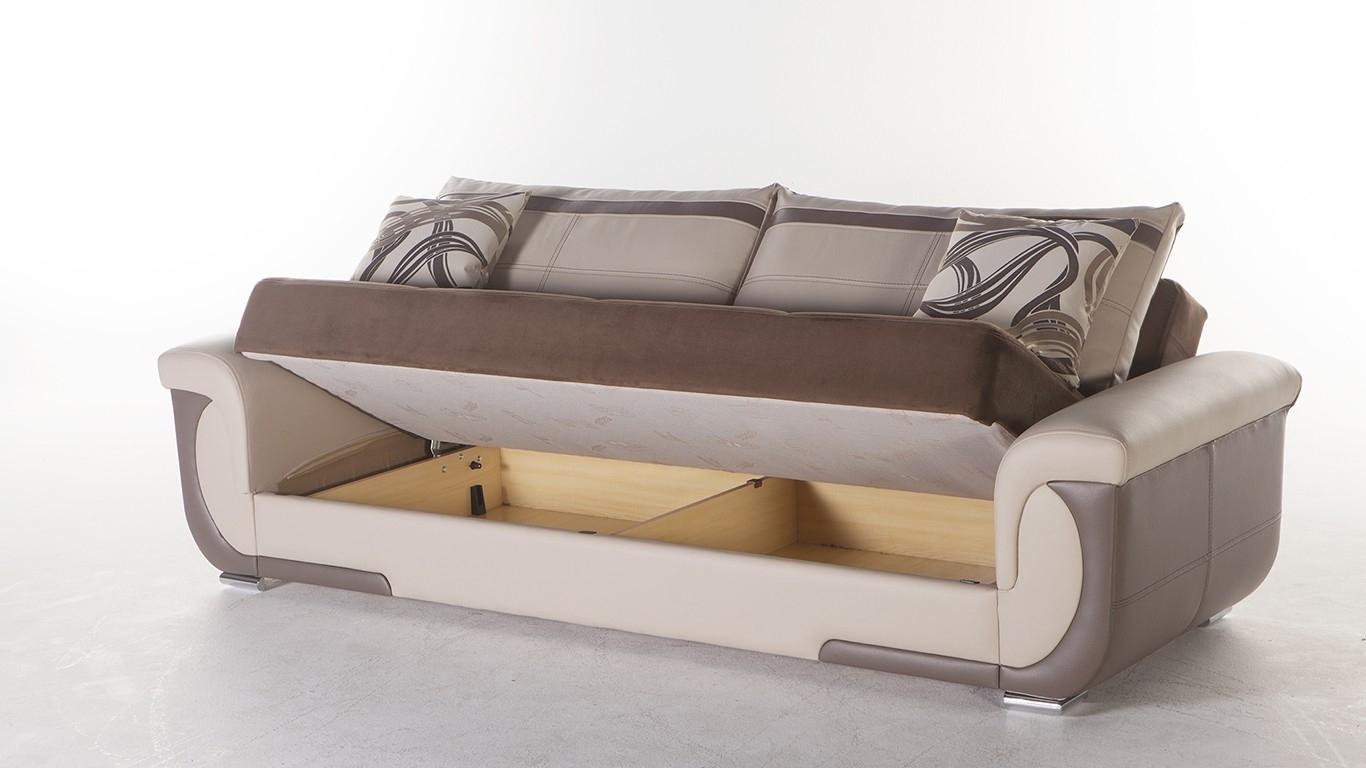 Stylish Sofa Sleeper With Storage Latest Living Room Remodel Ideas Throughout Storage Sofas (Image 10 of 10)