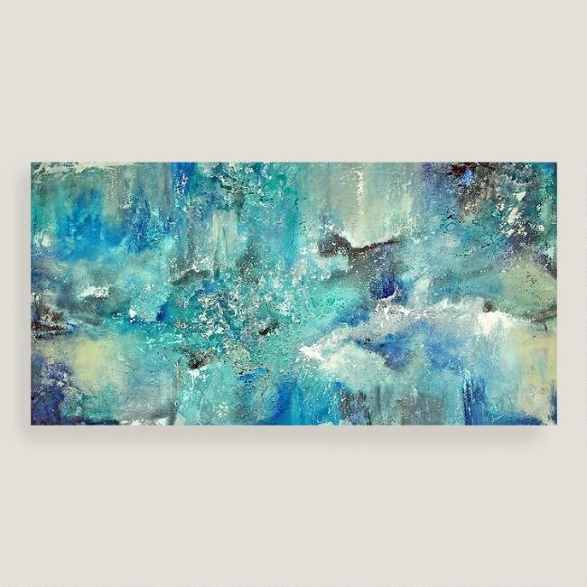 Superb Blue Canvas Wall Art With Designs Duck Egg And White Within Duck Egg Blue Canvas Wall Art (Image 12 of 15)