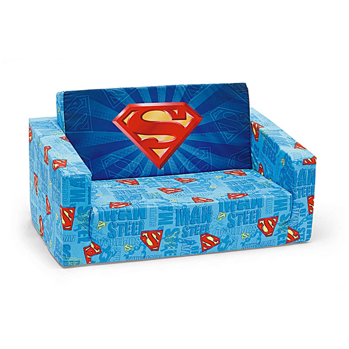 Superman Flip Out Sofa | Functionalities In Flip Out Sofas (Image 9 of 10)