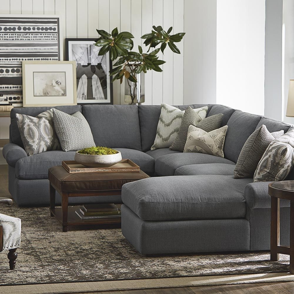 Sutton U Shaped Sectional | Shapes, Living Rooms And Room Pertaining To Gray U Shaped Sectionals (View 1 of 10)