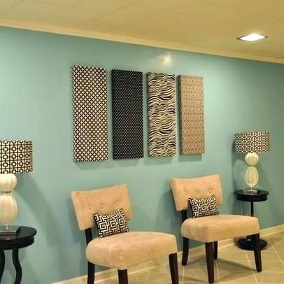 Tackable Panels Fabricmate Systems Inc Fabric For Walls New With Pertaining To Fabric Wall Art Panels (Image 15 of 15)