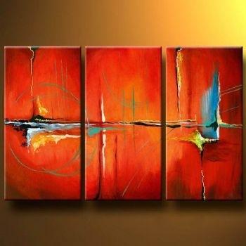Tango Modern Canvas Art Wall Decor Abstract Oil Painting Wall Art Within Abstract Oil Painting Wall Art (View 6 of 15)