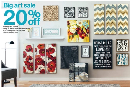 Target: Wall Art 20% Off + 15% Off With Cartwheel | All Things Target In Canvas Wall Art At Target (View 6 of 15)