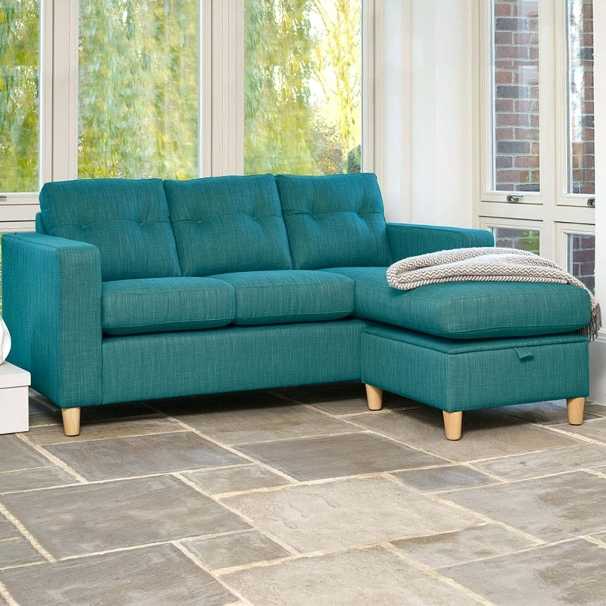 Teal Sofa Bed Target Sectional Sofas For Sale Pertaining To Target Sectional Sofas (Image 10 of 10)