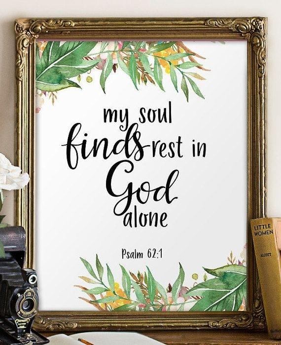 Teen Scripture Art, Bible Verse Wall Art Print, Christian Wall Art In Christian Framed Art Prints (View 12 of 15)