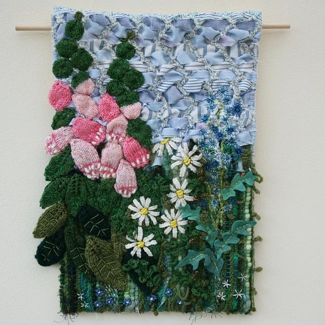 Textile Wall Art Textile Art Wall Hangings Textile Art Wall Intended For Contemporary Textile Wall Art (Image 14 of 15)