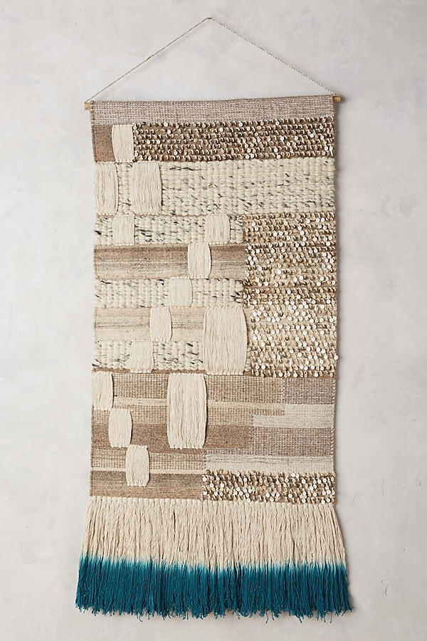 Textured Wall Hangings Are Weaving Their Way Into Nurseries Pertaining To Woven Fabric Wall Art (Image 12 of 15)