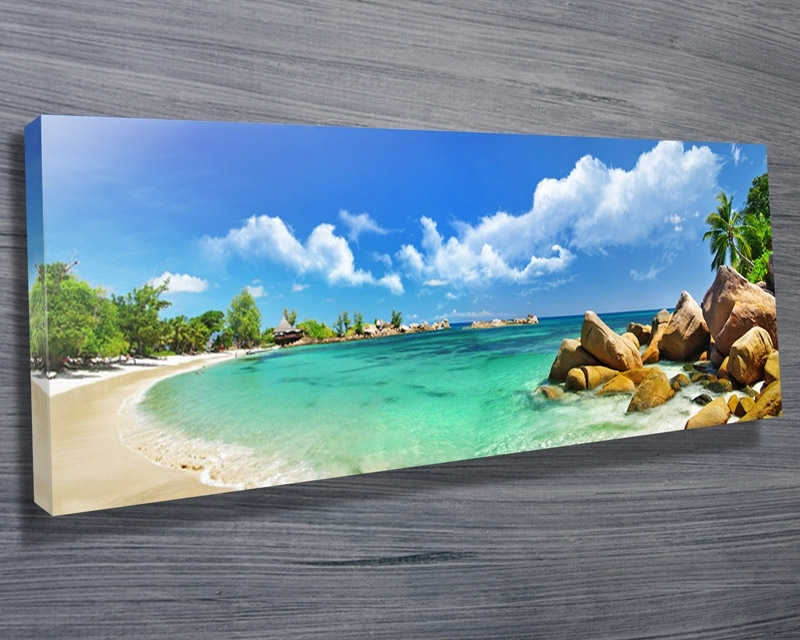 Thailand Paradise Beach – Canvas Prints Australia For Canvas Wall Art In Australia (View 9 of 15)