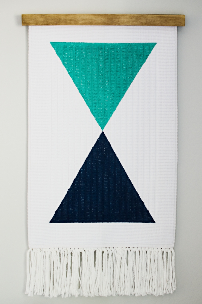 The 10 Easiest Diy Wall Hangings – Hither & Thither For Diy Textile Wall Art (Image 13 of 15)