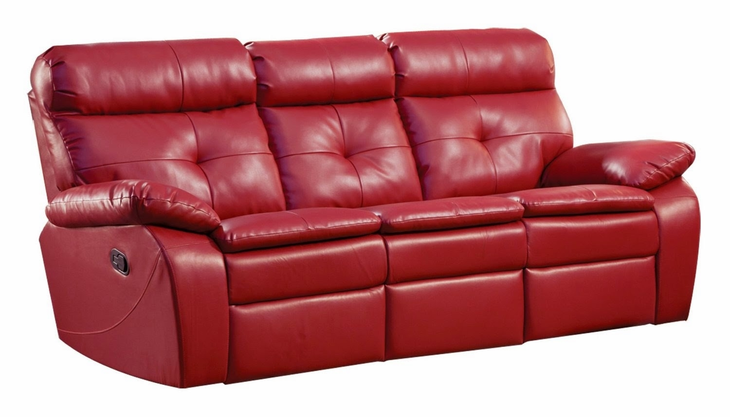 The Best Reclining Sofa Reviews: Red Leather Reclining Sofa And Loveseat Within Red Leather Reclining Sofas And Loveseats (View 9 of 10)