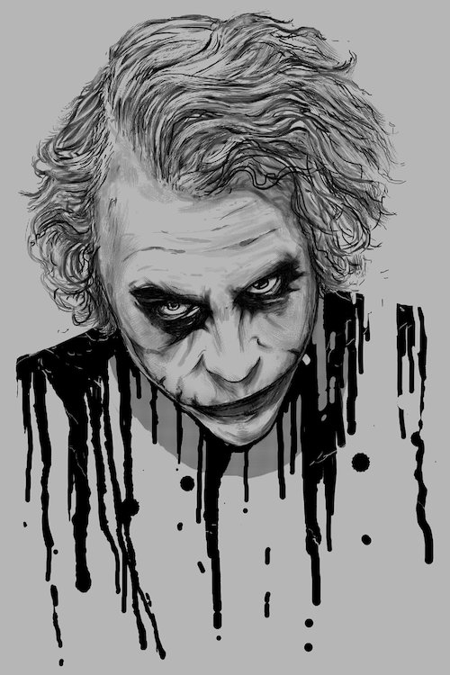 The Joker Canvas Wall Artnicebleed | Icanvas throughout Joker Canvas Wall Art