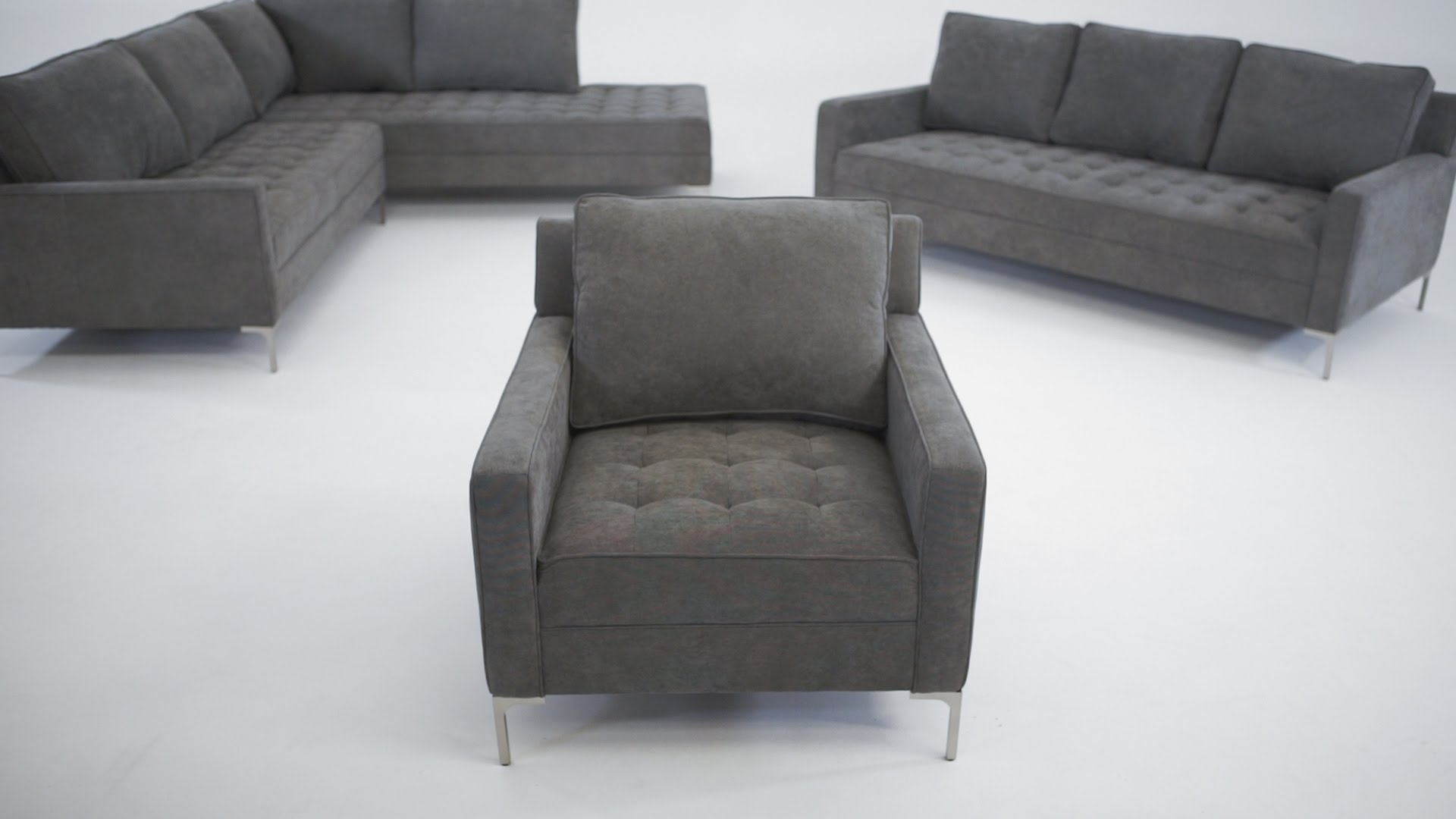 The Miami Collection – Structube – Youtube With Regard To Structube Sectional Sofas (Image 9 of 10)