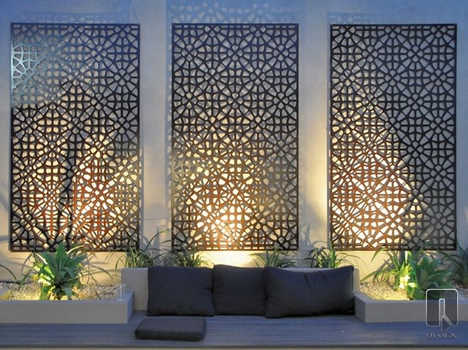 The Most Cost Effective 10 Diy Back Garden Projects That Any Regarding Australia Wall Accents (Image 10 of 15)