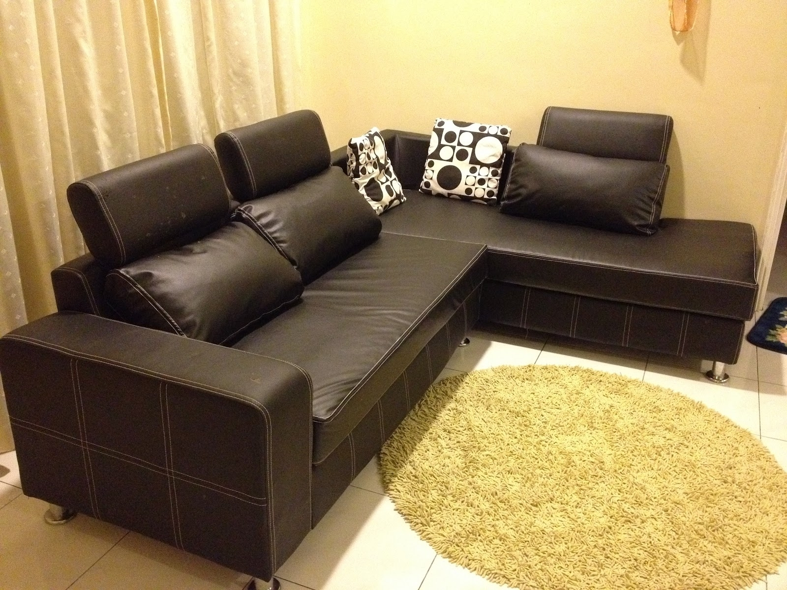 The Most Popular Leather Sofa For Sale Philippines Within Sofa In Philippines Sectional Sofas (Image 10 of 10)