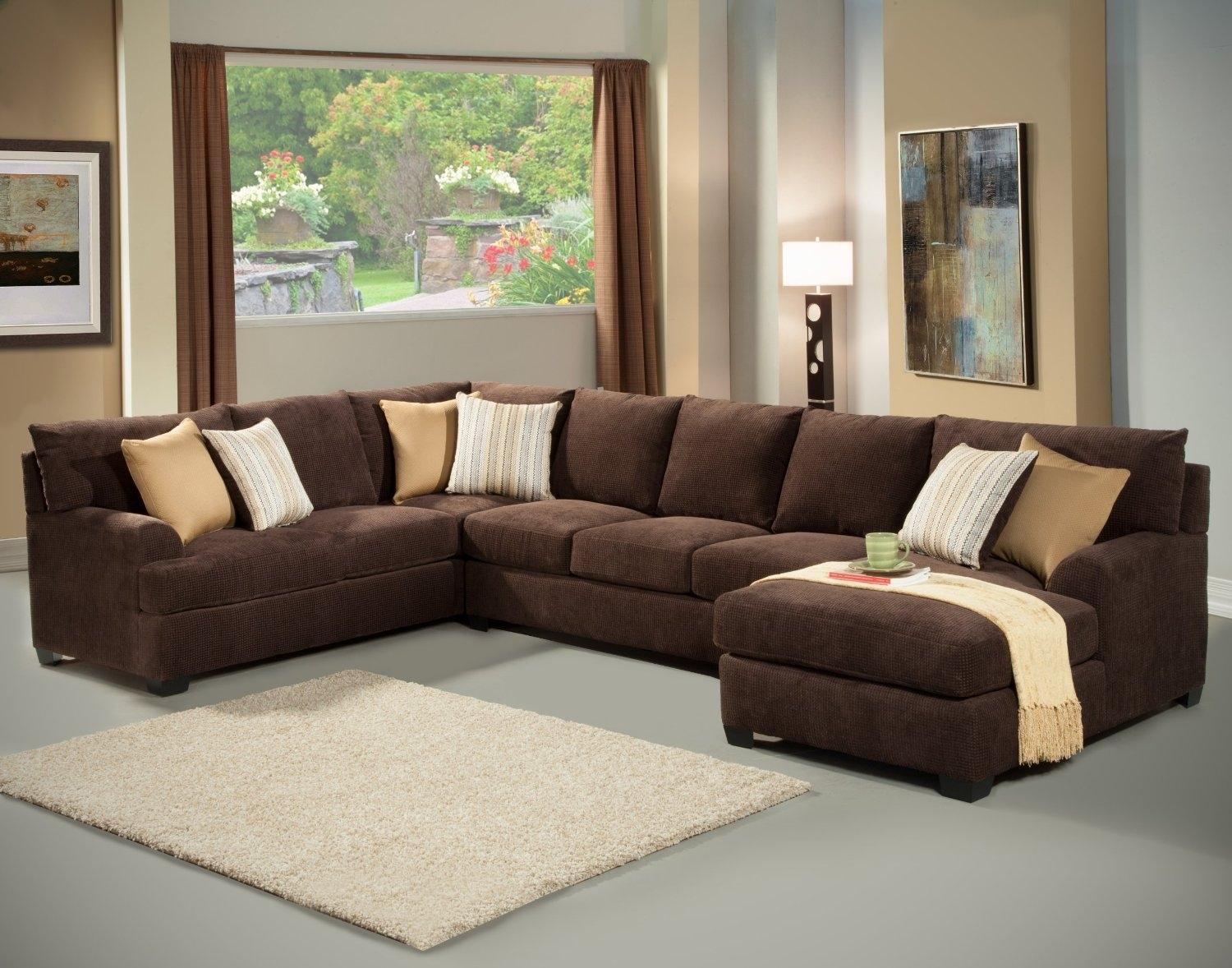 The Most Popular Plush Sectional Sofas 74 For Sectional Sofas Throughout Phoenix Sectional Sofas (View 9 of 10)