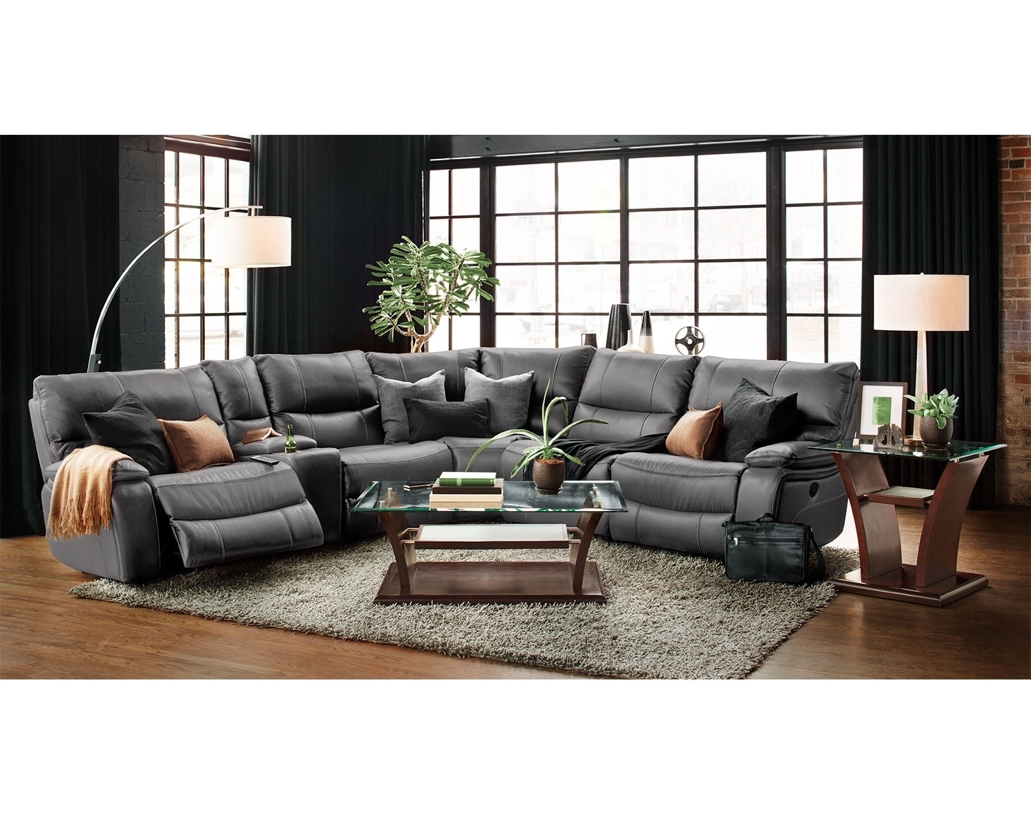 The Orlando Collection – Gray | American Signature Furniture In Orlando Sectional Sofas (Image 9 of 10)
