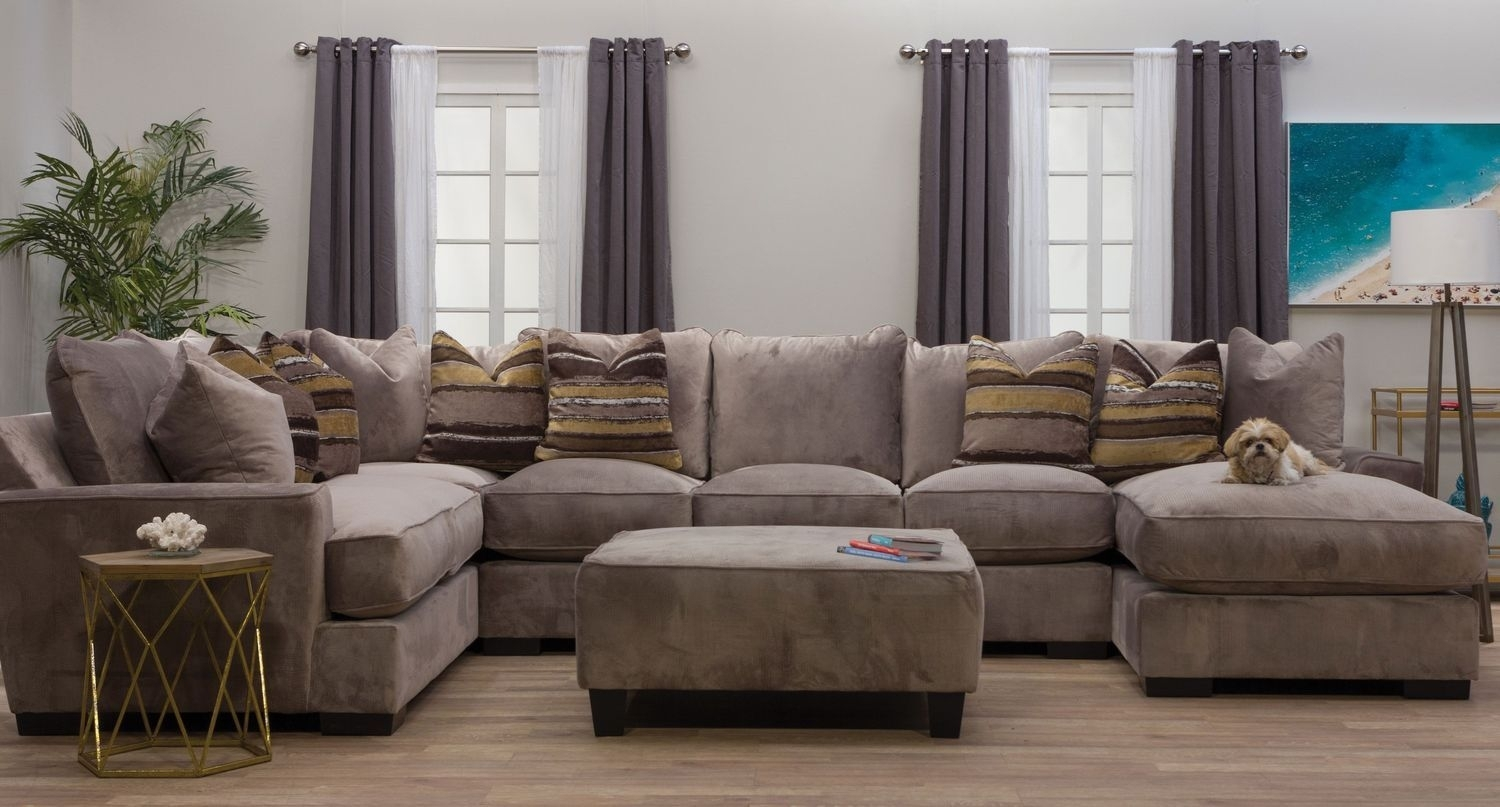 The Serendipity Sectional Sofa Offers Both Contemporary Styling And Within Dayton Ohio Sectional Sofas (Image 10 of 10)