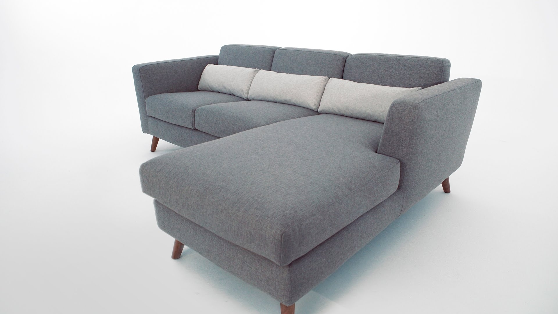 The Taylor Sectional Sofa – Structube – Youtube For Structube Sectional Sofas (Image 10 of 10)