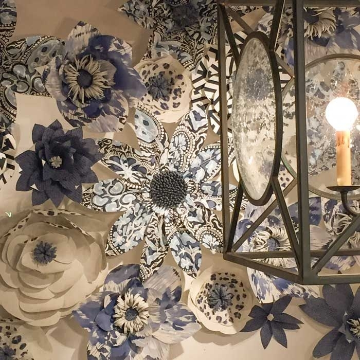 15 photos wallpaper wall accents wall art ideas for Wallpaper trend 2017