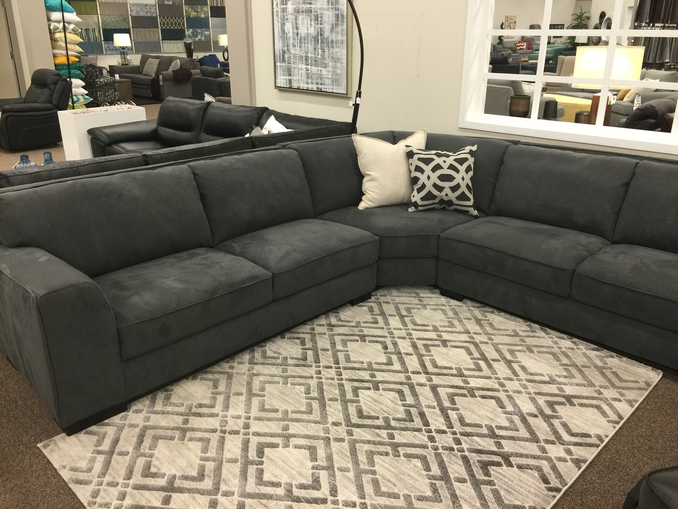 This Is All The Comfort We Can Fit Into A Price Of $1999! The Kellen In Nova Scotia Sectional Sofas (Image 9 of 10)