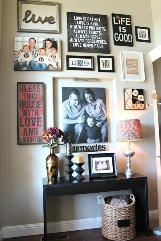 This Is What I Picture Our Future Family Wall Like (View 3 of 15)