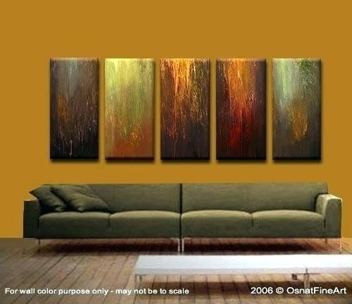Three Piece Canvas Wall Art – Boyintransit In Kohls 5 Piece Canvas Wall Art (View 10 of 15)