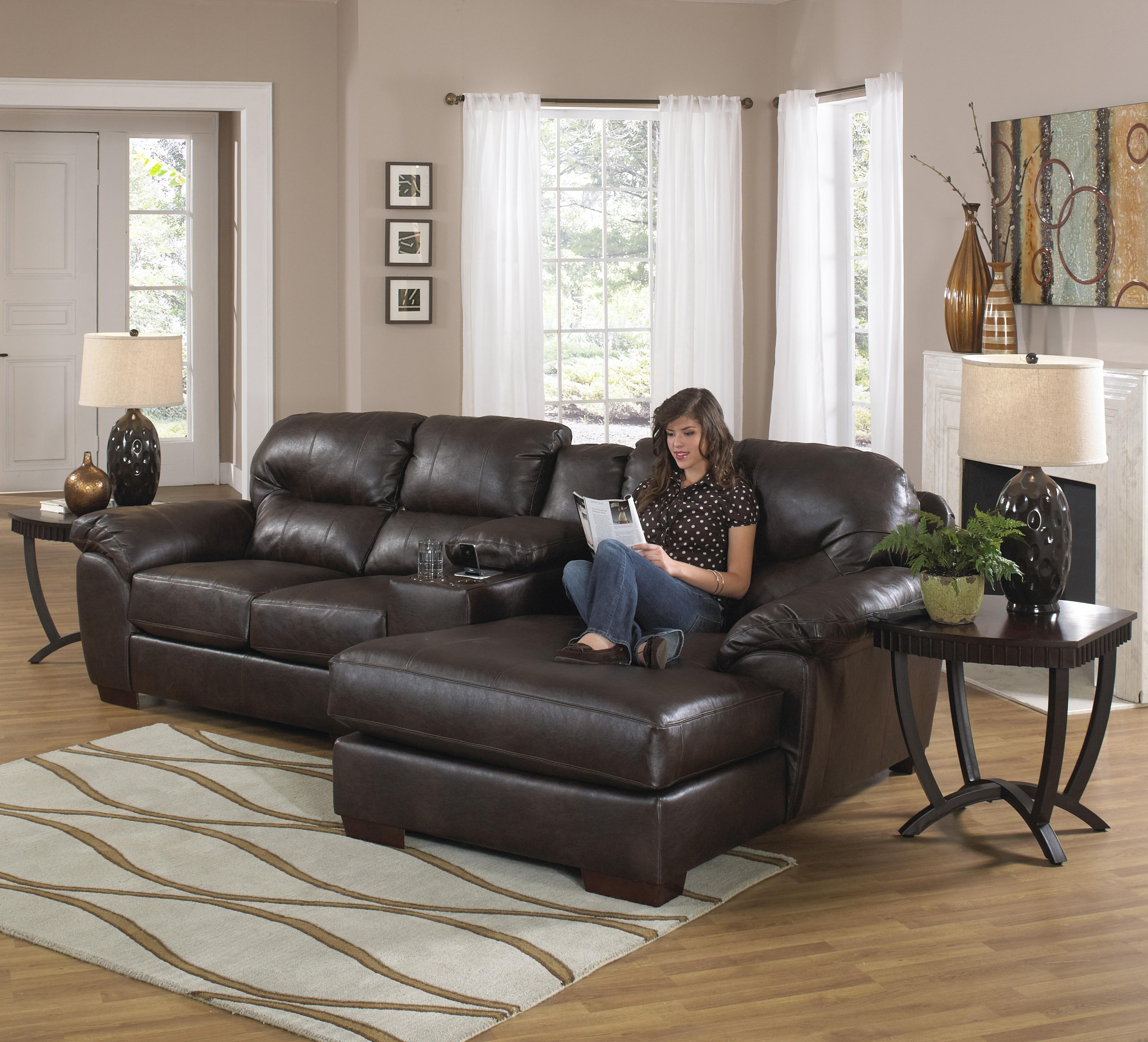 Featured Photo of Sectional Sofas With Consoles