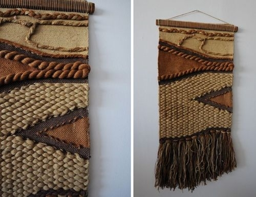 Thriftscore02 500×385 Pixels | Weaving | Pinterest | Woven With Woven Textile Wall Art (Image 12 of 15)