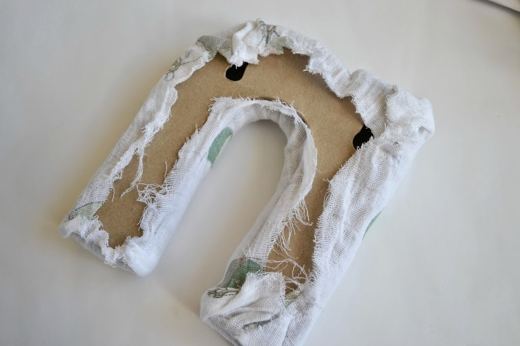 To Make Easy Diy Fabric Letters For Your Nursery With Regard To Fabric Wall Art Letters (Image 13 of 15)