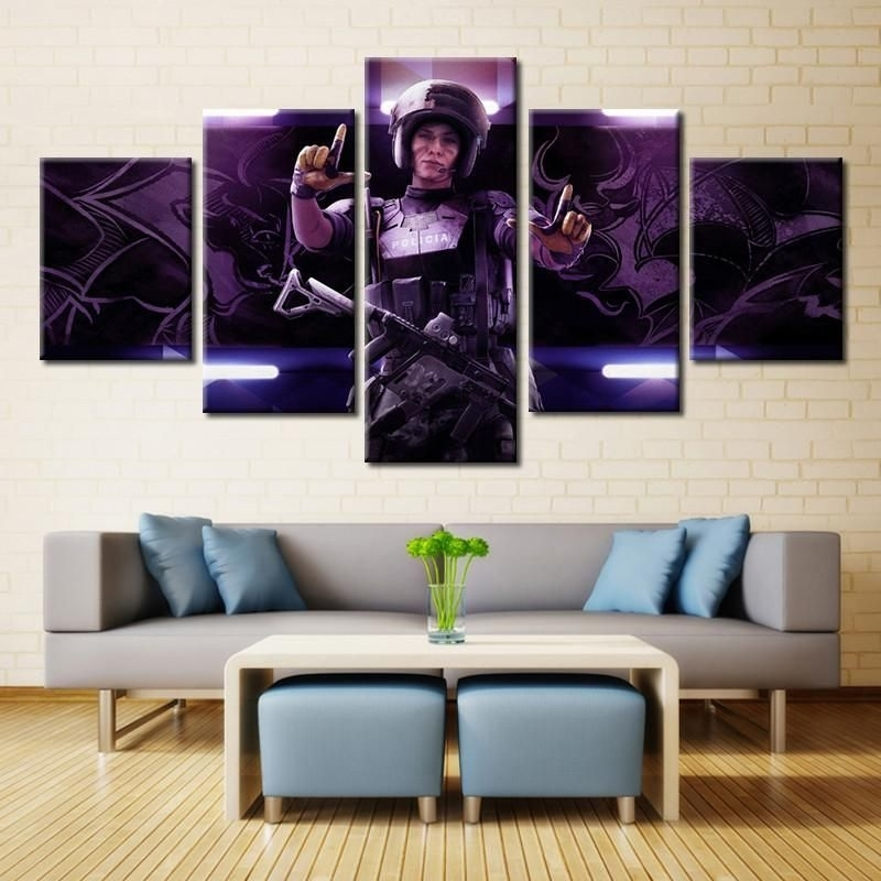 Tom Clancy's Rainbow Six Siege Wall Art | Products | Pinterest Inside Rainbow Canvas Wall Art (View 8 of 15)