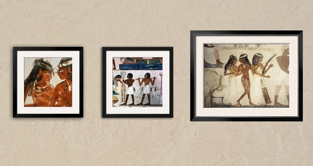 Tomb Of Nakht Wall Art Framed African American Wall Art Art With Framed African  American Art