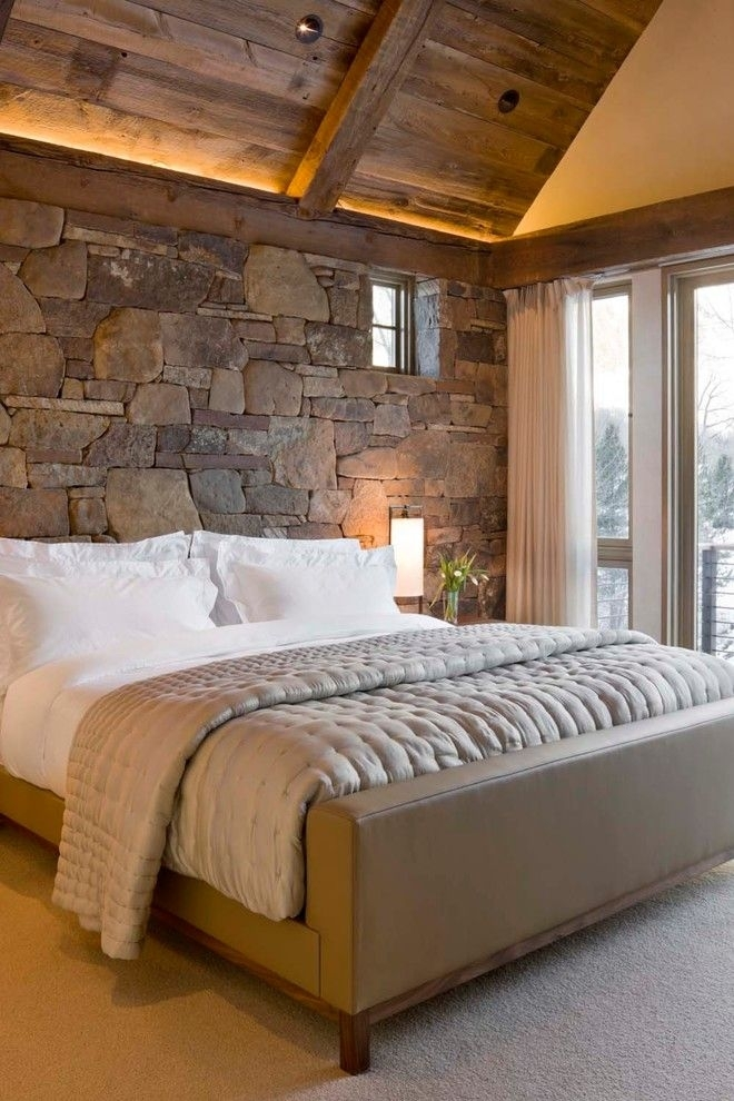 Top 7 Most Popular Materials For Wall Finishing For Wall Accents Behind Bed (View 7 of 15)