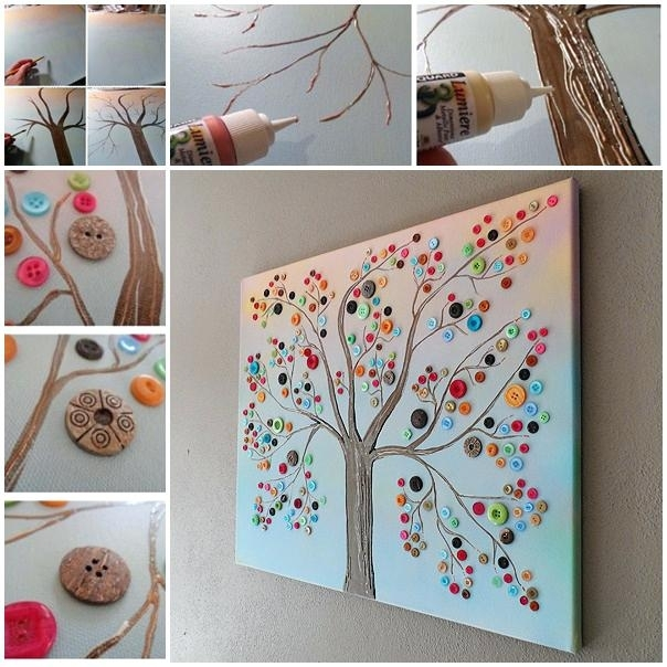 Tree Canvas Wall Art – Boyintransit With Jcpenney Canvas Wall Art (Image 14 of 15)