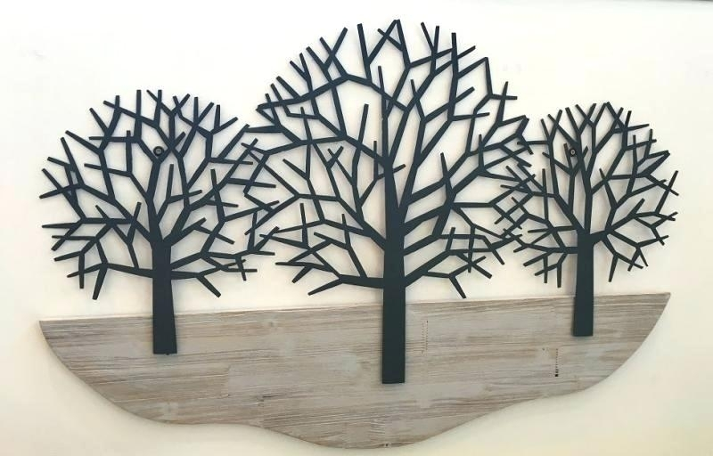 Tree Wall Art Wood Tree Wall Art Wood Guest Project Make A Hanging Throughout Fabric Tree Wall Art (Image 12 of 15)