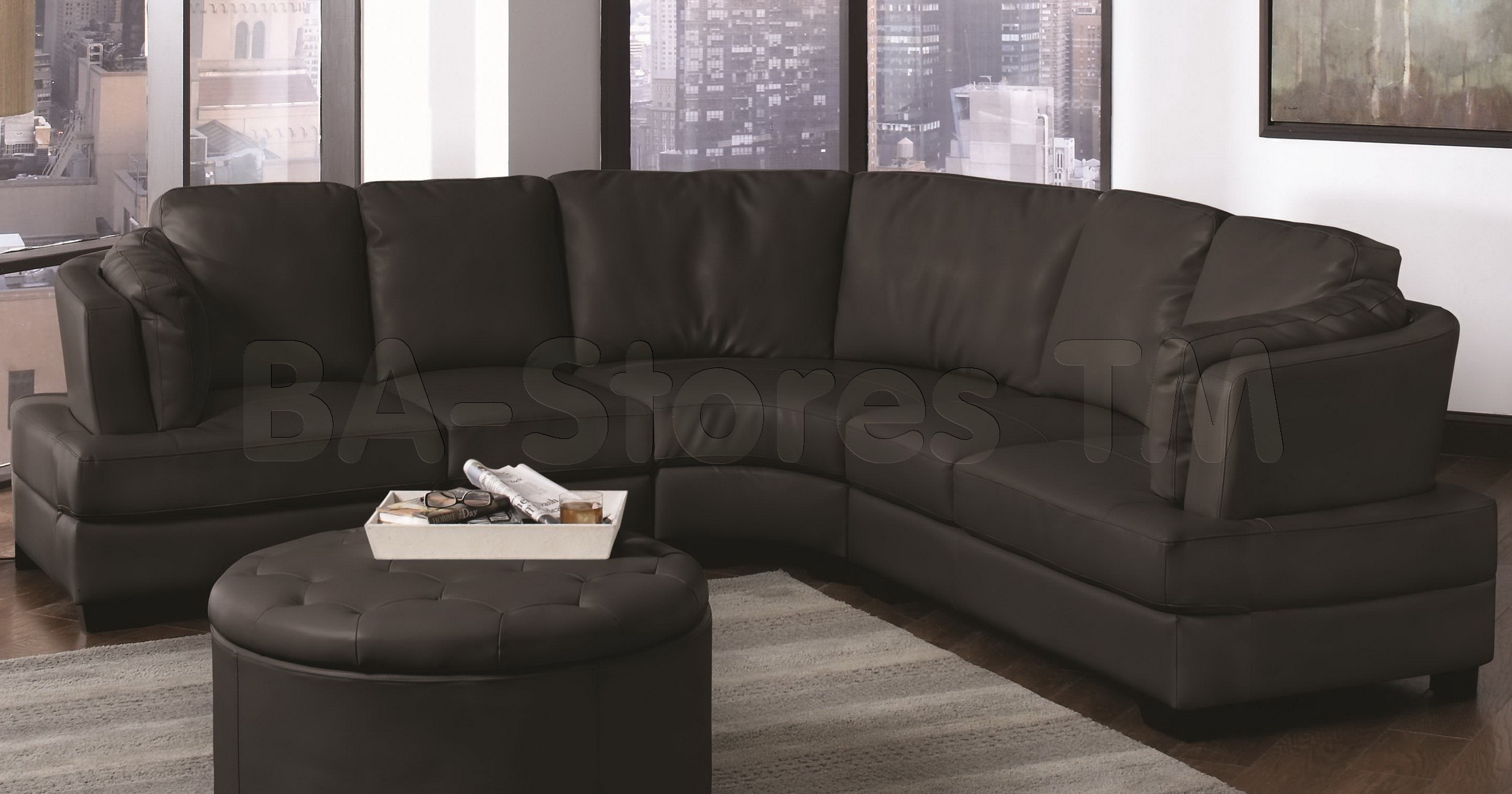 Trend Curved Sectional Sofa 99 On Contemporary Sofa Inspiration With Intended For Rounded Sofas (Image 10 of 10)