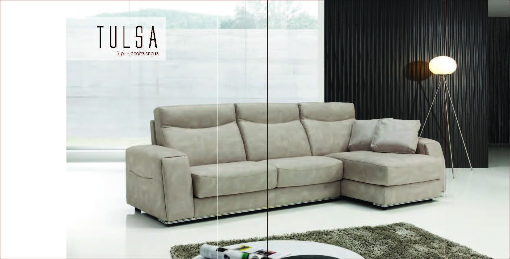 Tulsa, Vizcaino Modern Sectionals, Spain, Collections With Tulsa Sectional Sofas (View 10 of 10)
