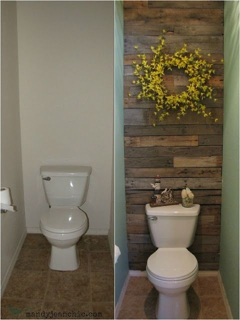 Featured Image of Wall Accents Behind Toilet