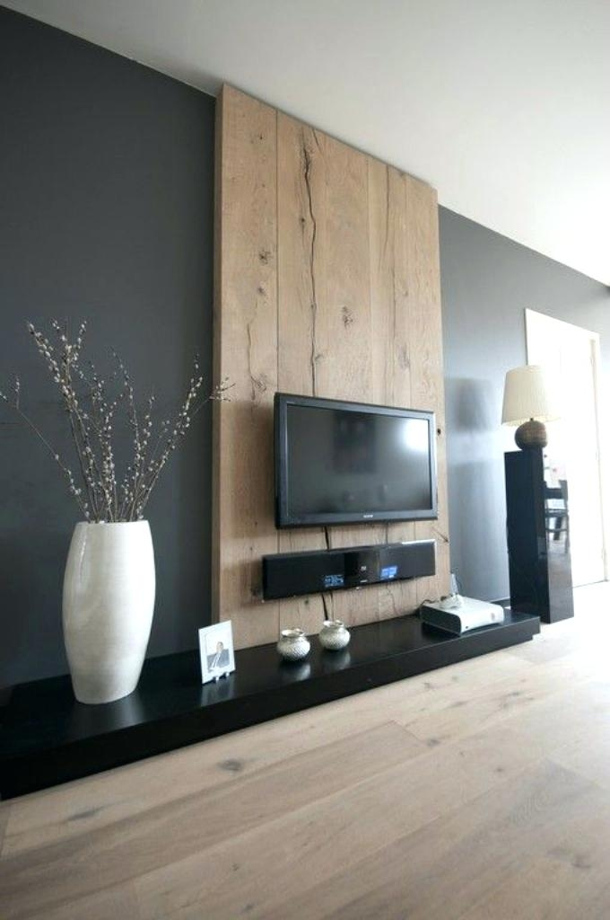 Tv Accent Wall Accent Wall With Dark Behind Magnificent Room Home Intended For Wall Accents Behind Tv (View 10 of 15)