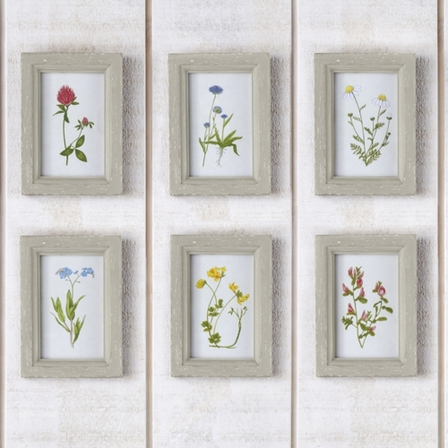 Two's Company Wild Flowers Framed Art Prints From Elizabeth's Intended For Flowers Framed Art Prints (Image 11 of 15)