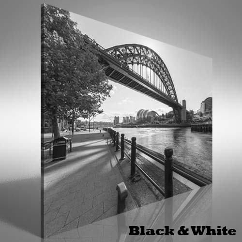 Tyne Bridge At Newcastle Upon Tyne Uk Canvas Print Large Picture Throughout Newcastle Canvas Wall Art (View 4 of 15)