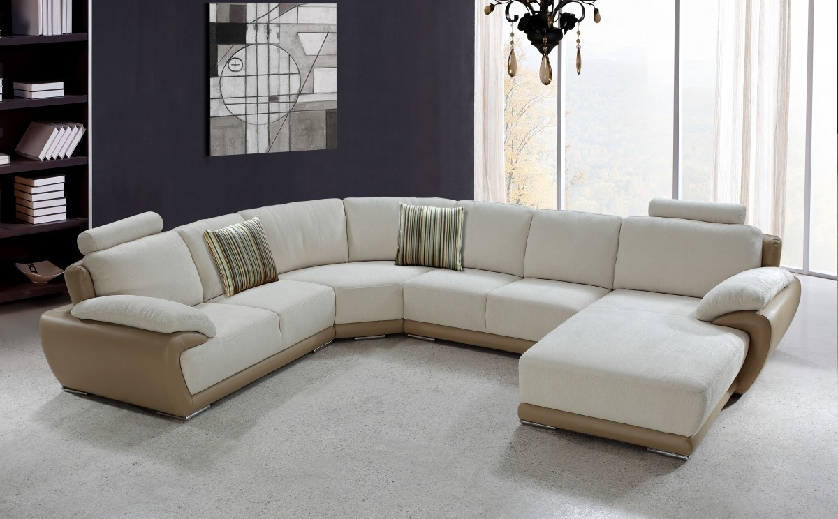 U Shaped Couch Living Room Furniture All About House Design : Best U With Big U Shaped Couches (Photo 10 of 10)