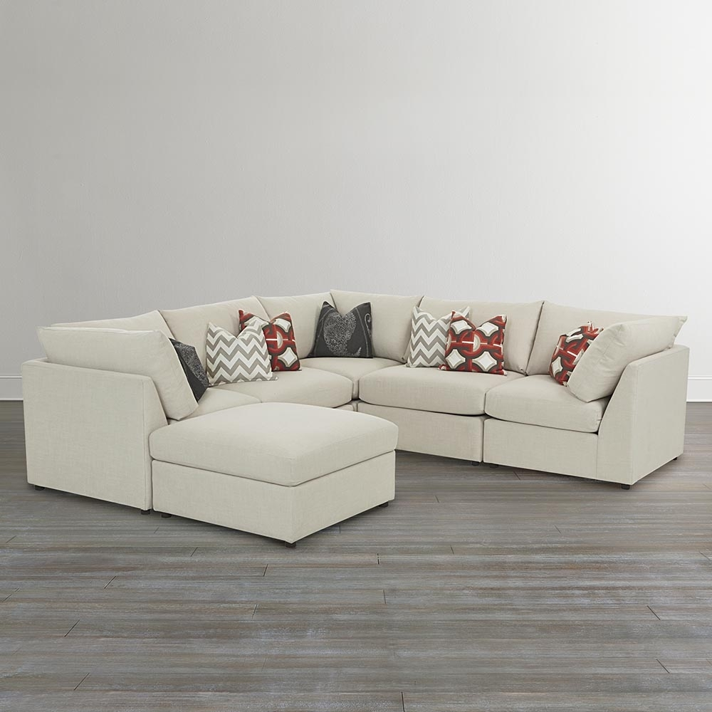 U Shaped Sectional Sofa With Ottomans — Fabrizio Design With U Shaped Sectional Sofas (View 8 of 10)