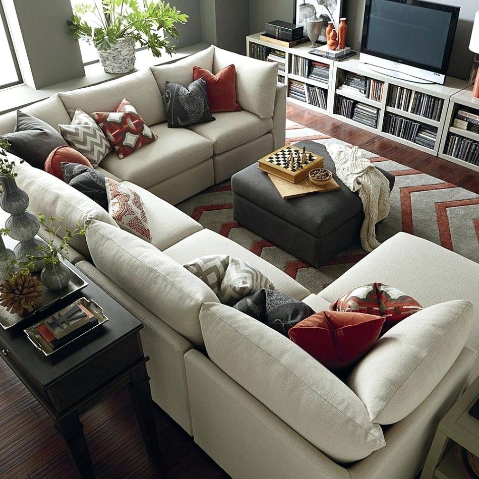 U Shaped Sectional Sofas – Koupelnynaklic Throughout U Shaped Sectional Sofas (View 10 of 10)