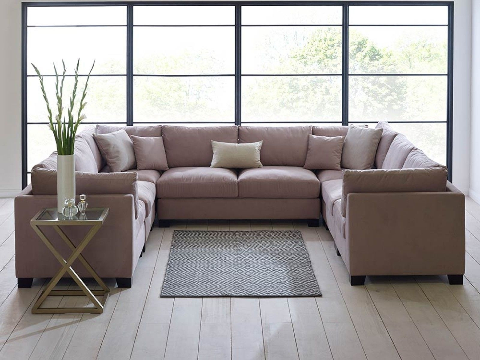 U Shaped Sofa – Google Search | Movie Room | Pinterest | Sofa Set For Deep U Shaped Sectionals (Image 10 of 10)