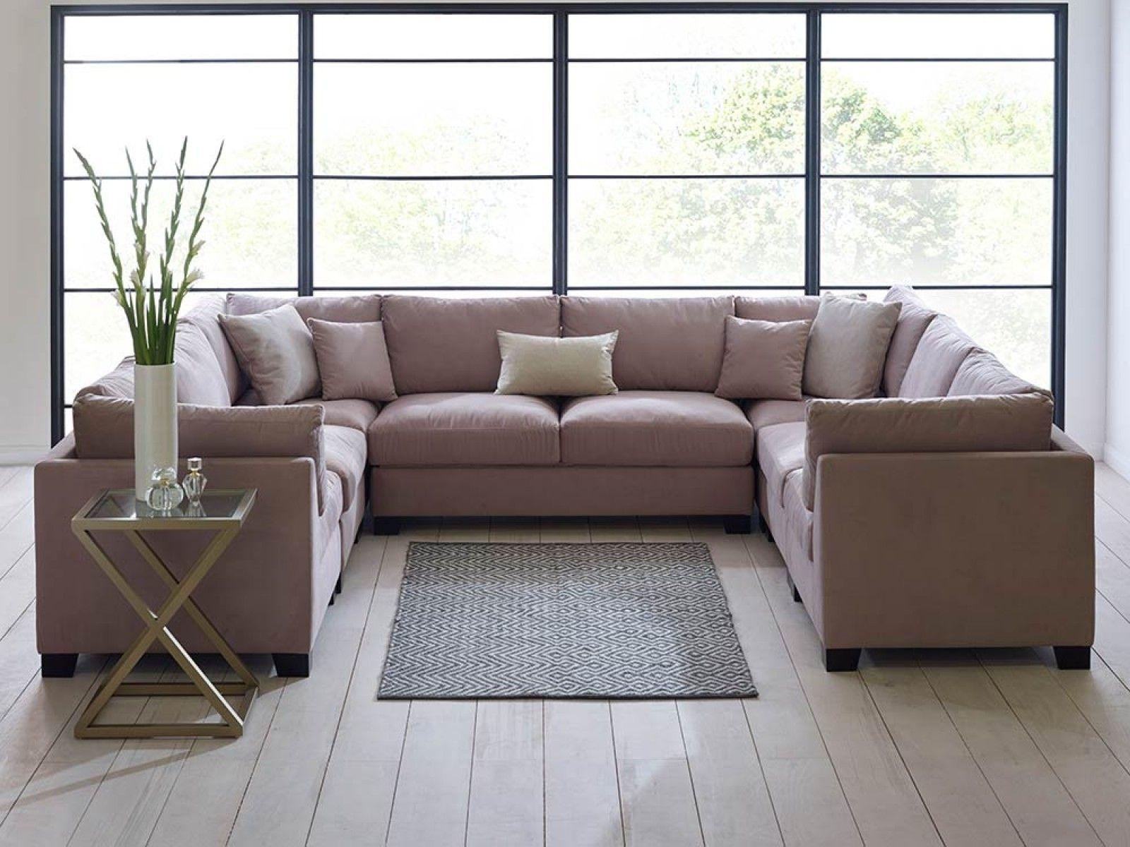 U Shaped Sofa - Google Search | Movie Room | Pinterest | Sofa Set for Deep U Shaped Sectionals