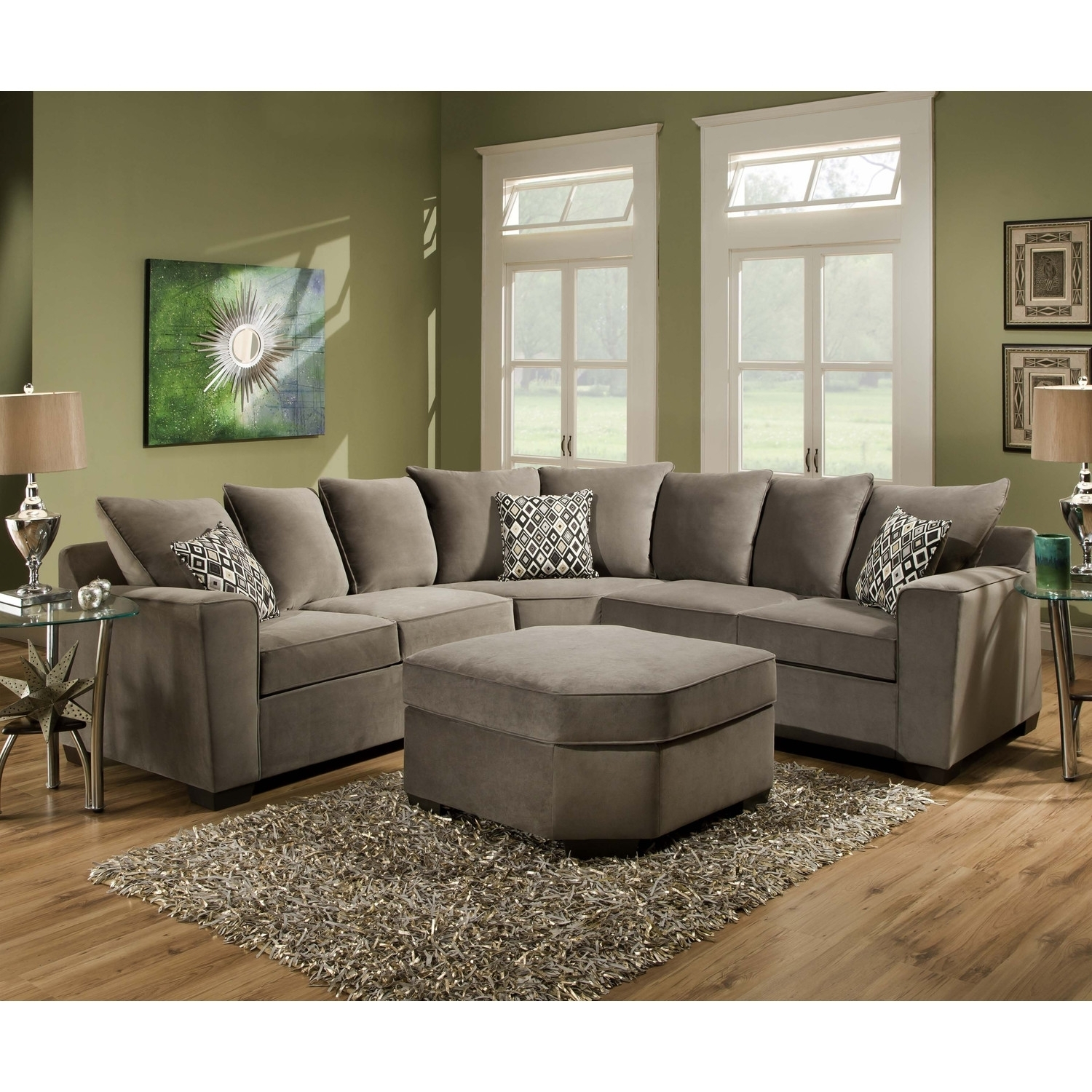 Ultra Plush Sectional Sofa | Sofa Ideas For Plush Sectional Sofas (Image 8 of 10)