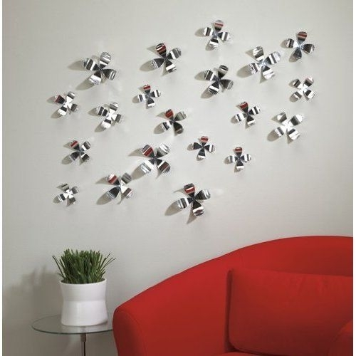 Umbra Wallflower Chrome | Deco Pared / Wall Decor | Pinterest For Flowers Wall Accents (Photo 7 of 15)