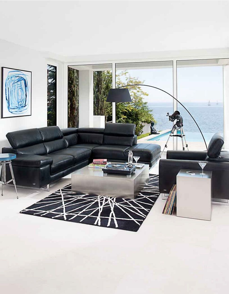 Umbria Sectional Sofanatuzzi Editions | Hudson's Bay | House Pertaining To The Bay Sectional Sofas (Image 9 of 10)
